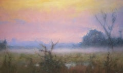 Far from the West, American Luminism, Texas Landscapes, ethereal landscapes