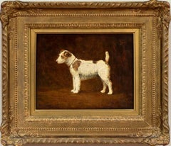 Dog Portrait of a Jack Russell Terrier by Harry Clifford Pilsbury