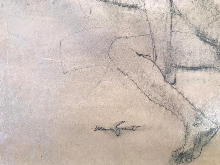 """""""Female Nude Study"""" - Art by Warren Brandt"""