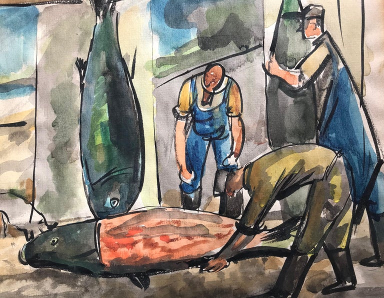 """Fish Mongers"" For Sale 1"