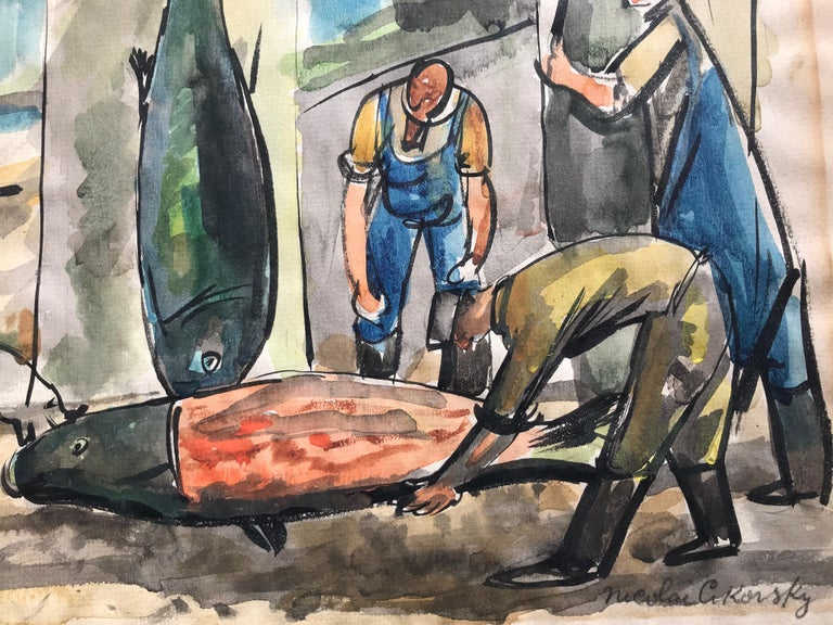 """Fish Mongers"" For Sale 2"