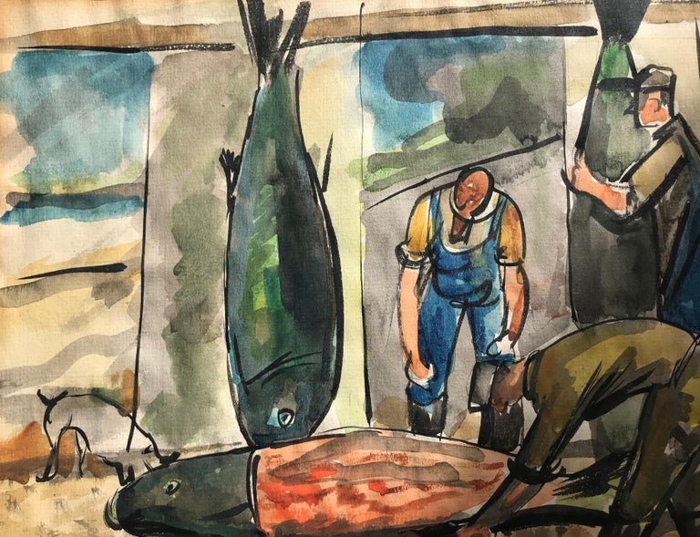 """Fish Mongers"" For Sale 3"