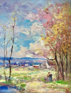 """Impressionist Landscape"""