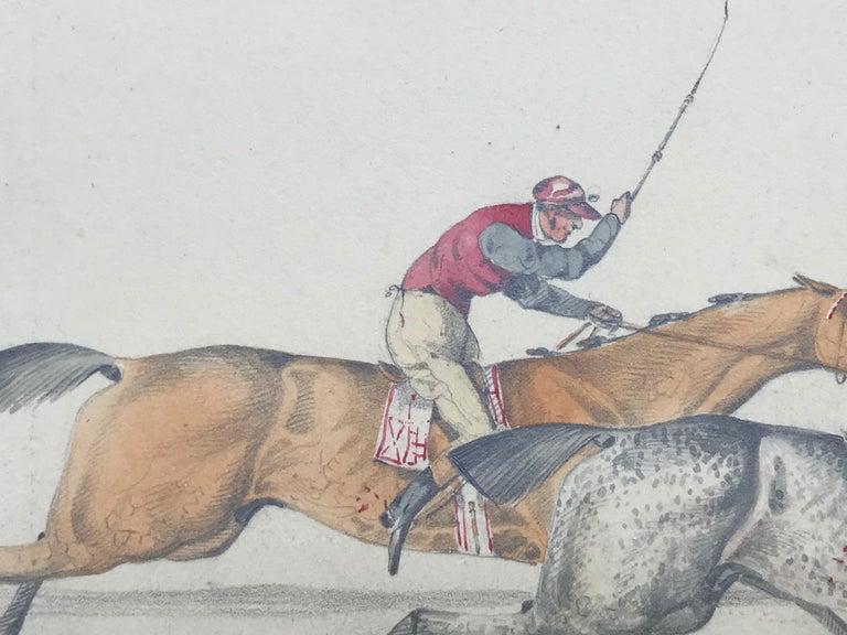 """""""The Race"""" - Academic Art by Henry Alken"""