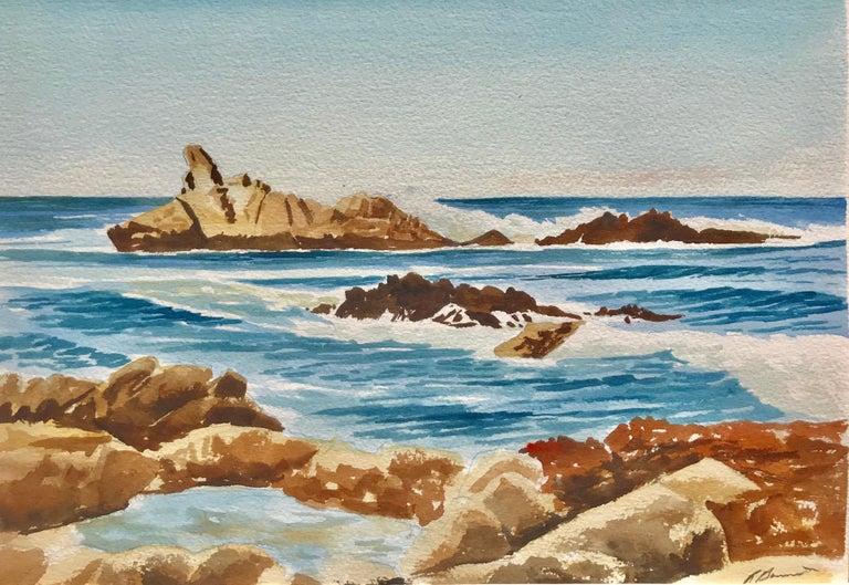 """Unknown Landscape Art - """"Gentle Seas"""""""