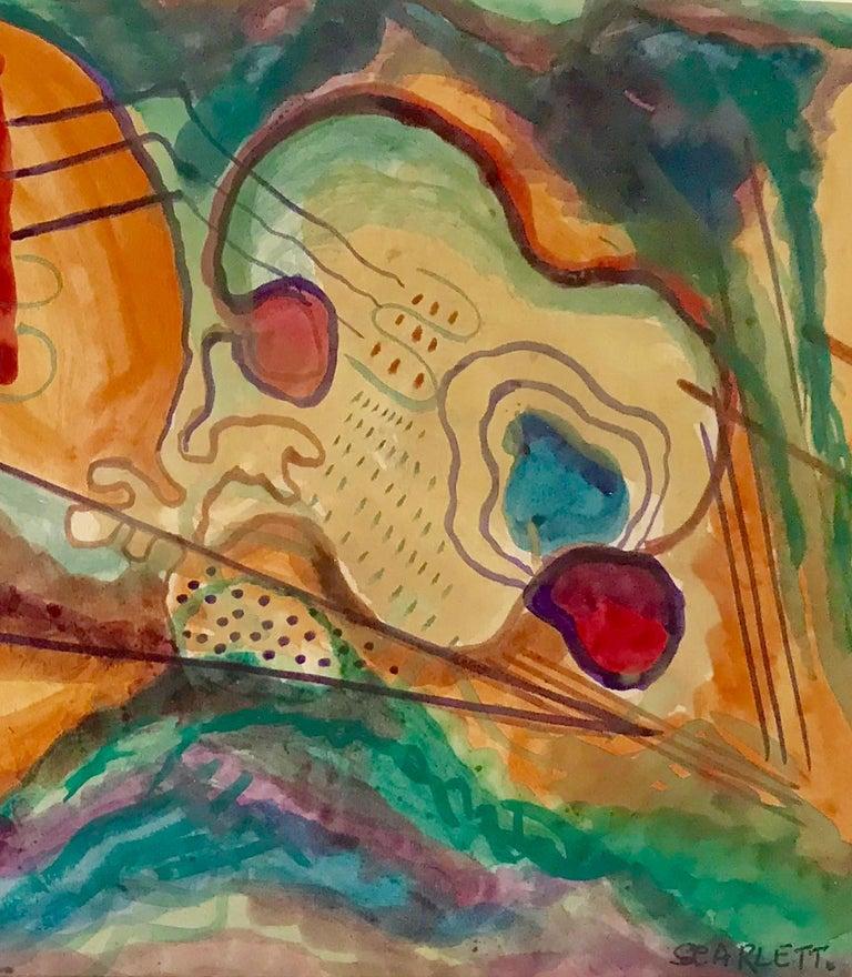 """Abstract, 1950"" - Art by Rolph Scarlett"