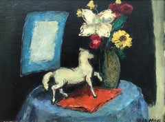 """Still Life with Horse"""