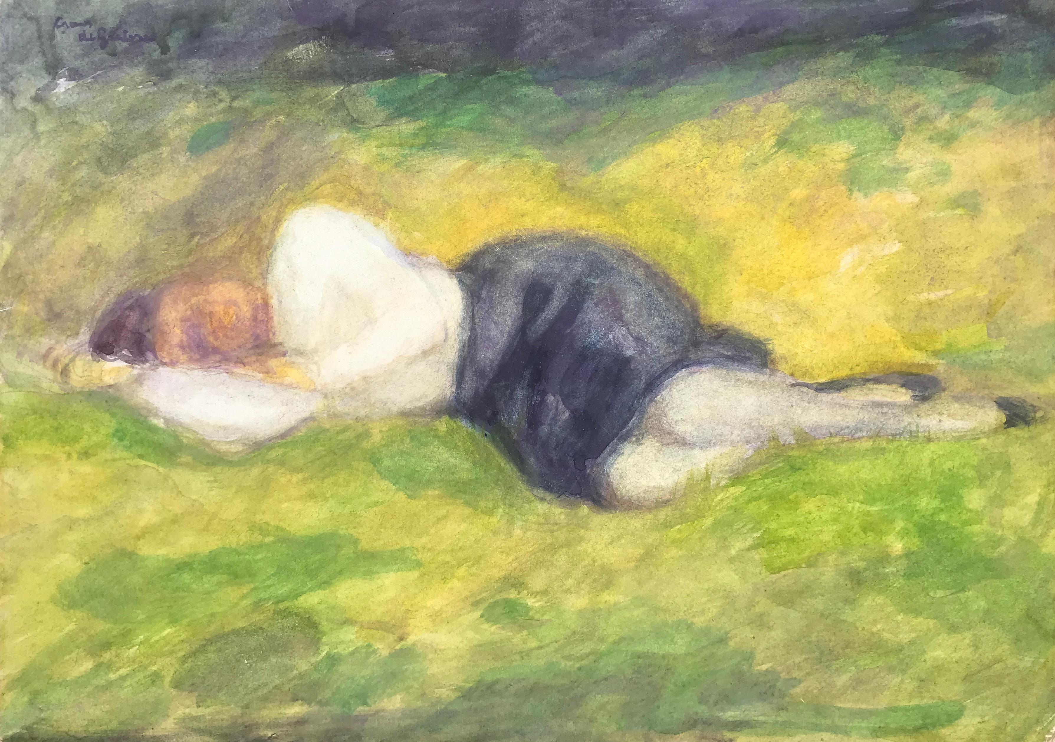 """Sleeping Woman"""