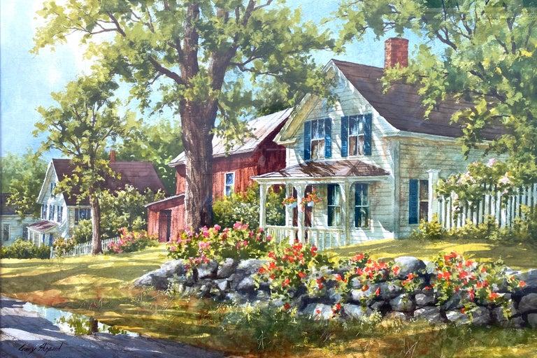 "Gary Shepard Landscape Art - ""Stone Wall"""