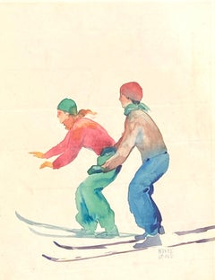 """""""Down Hill Skiers"""""""