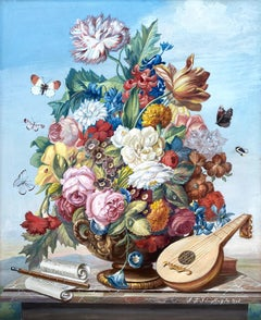 """""""Floral Bouquet with Mandolin"""""""