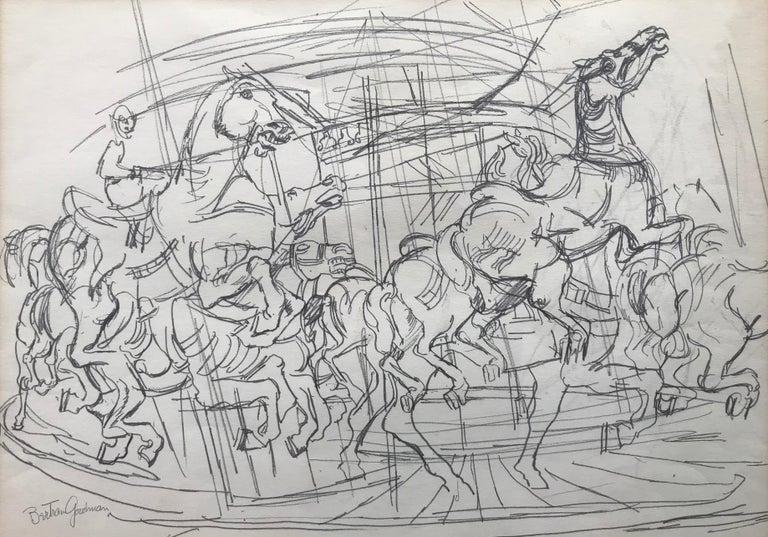 """Carousel"" - Art by Bertram Goodman"