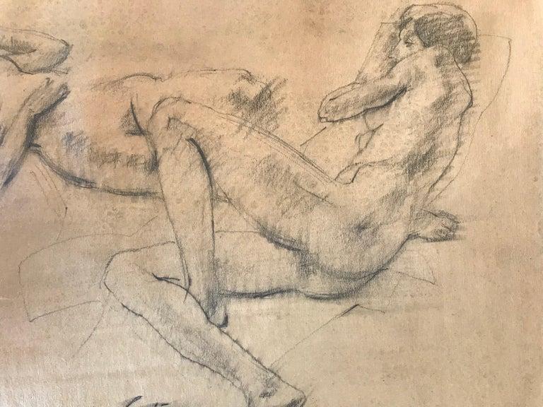 """""""Female Nude Study"""" - Post-Modern Art by Warren Brandt"""