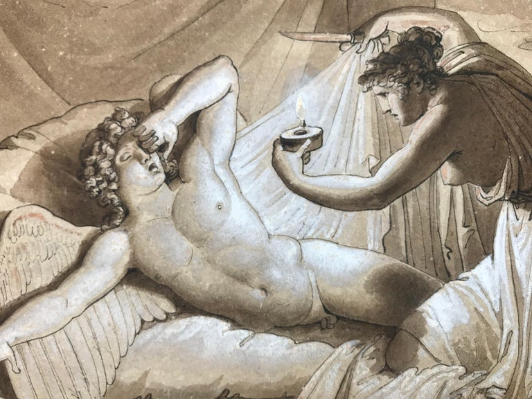 """""""Cupid and Psyche"""" - Art by Giuseppe Cammarano"""