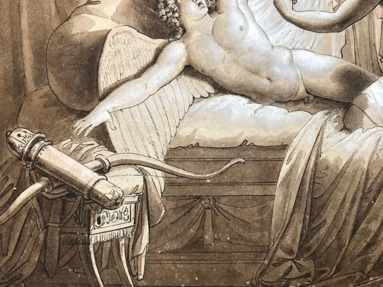 """""""Cupid and Psyche"""" - Academic Art by Giuseppe Cammarano"""