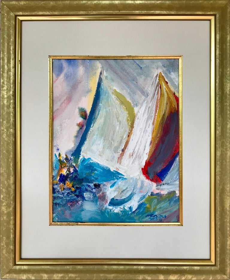 """""""Abstract Sailing"""" For Sale 5"""