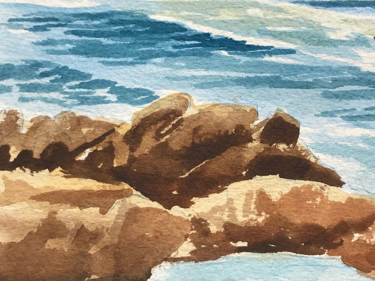 """""""Gentle Seas"""" - Post-Modern Art by Unknown"""