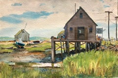 """Fishing Shack, Maine"""