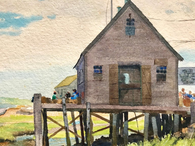 """""""Fishing Shack, Maine"""" For Sale 3"""