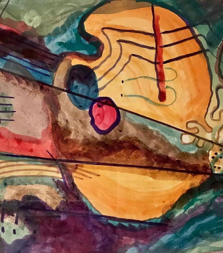 """Abstract, 1950"" - Post-Modern Art by Rolph Scarlett"
