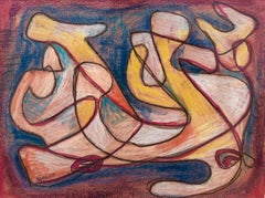 Post-Modern Abstract Drawings and Watercolors