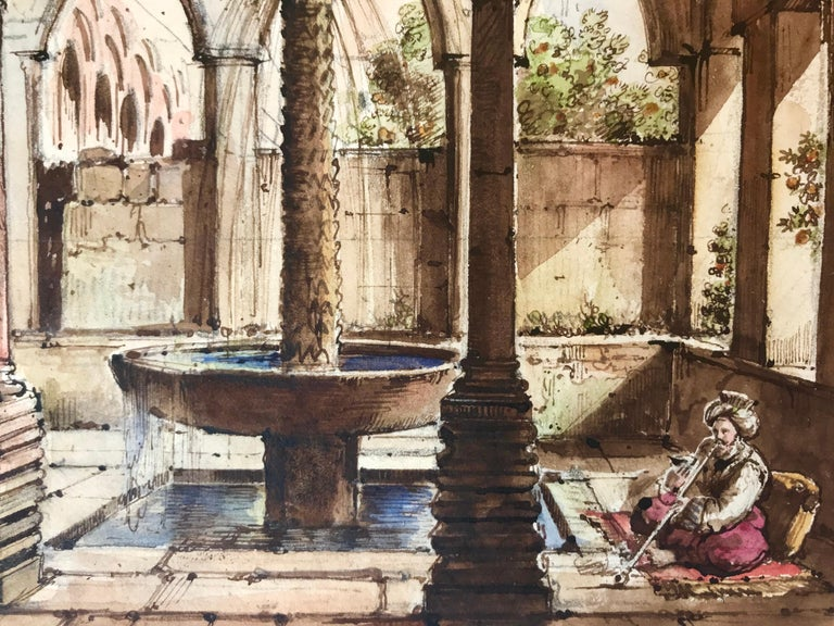 """Cloister of Monreale, Sicily"" For Sale 1"