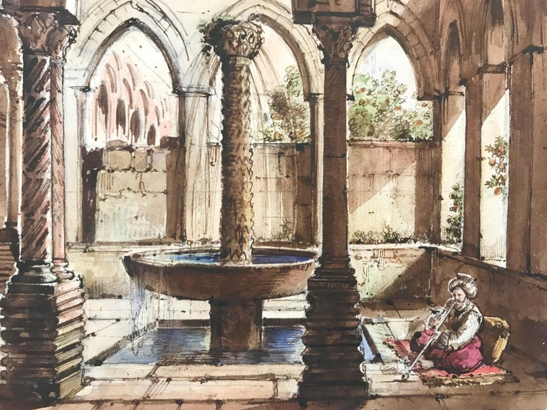 """Cloister of Monreale, Sicily"" For Sale 2"