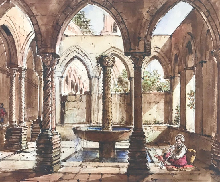 """Cloister of Monreale, Sicily"" For Sale 5"