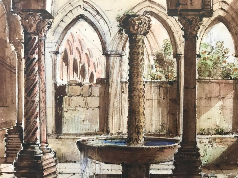 """Cloister of Monreale, Sicily"" For Sale 6"
