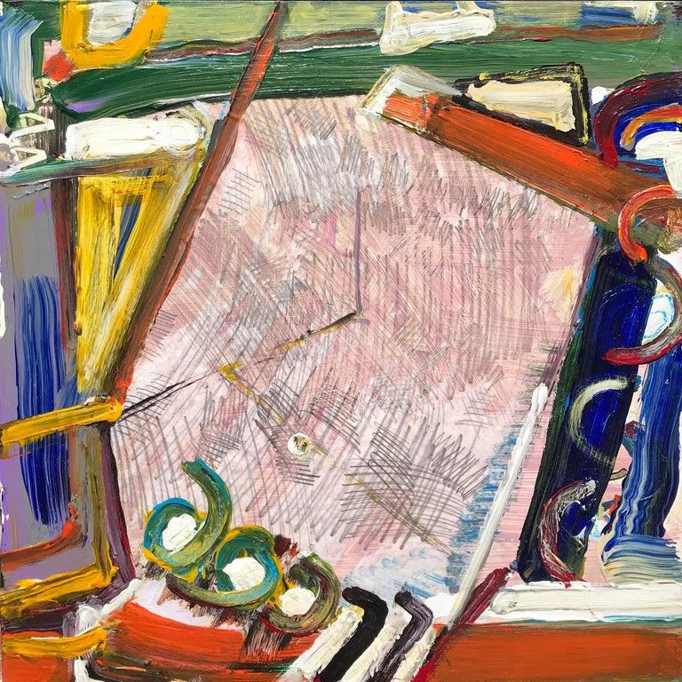 "Iliyan Ivanov Abstract Painting - ""Untitled"""