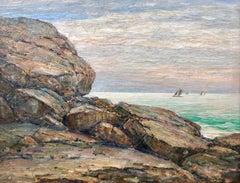 """""""Sailboats off Cape Ann"""""""