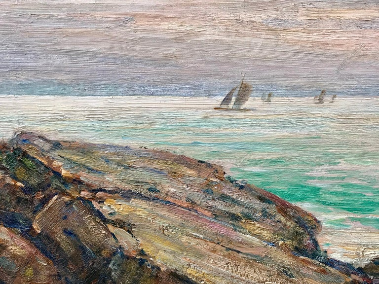 """Sailboats off Cape Ann"" For Sale 5"
