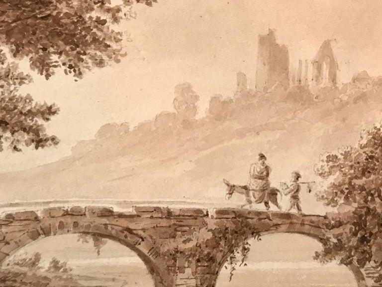 """Crossing the Bridge"" - Art by Unknown"