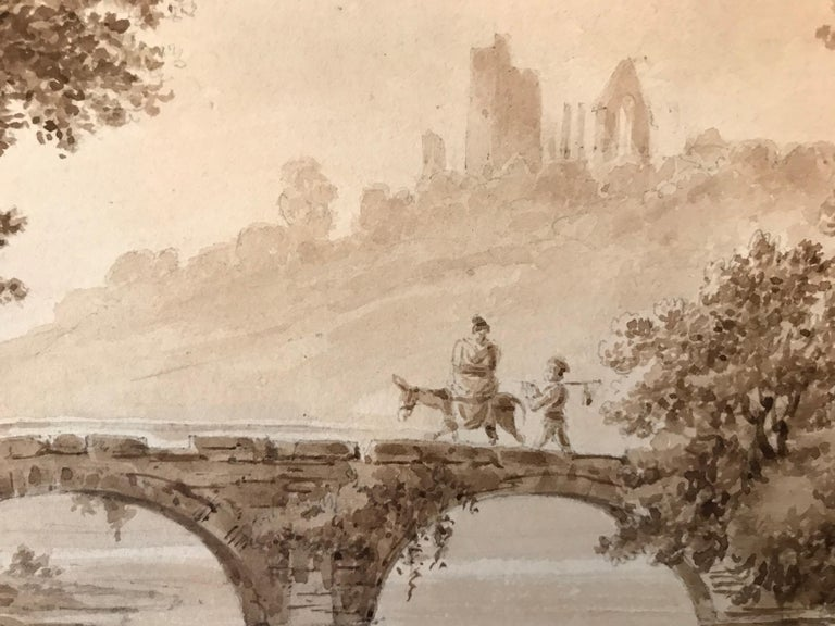 """""""Crossing the Bridge"""" - Academic Art by Unknown"""