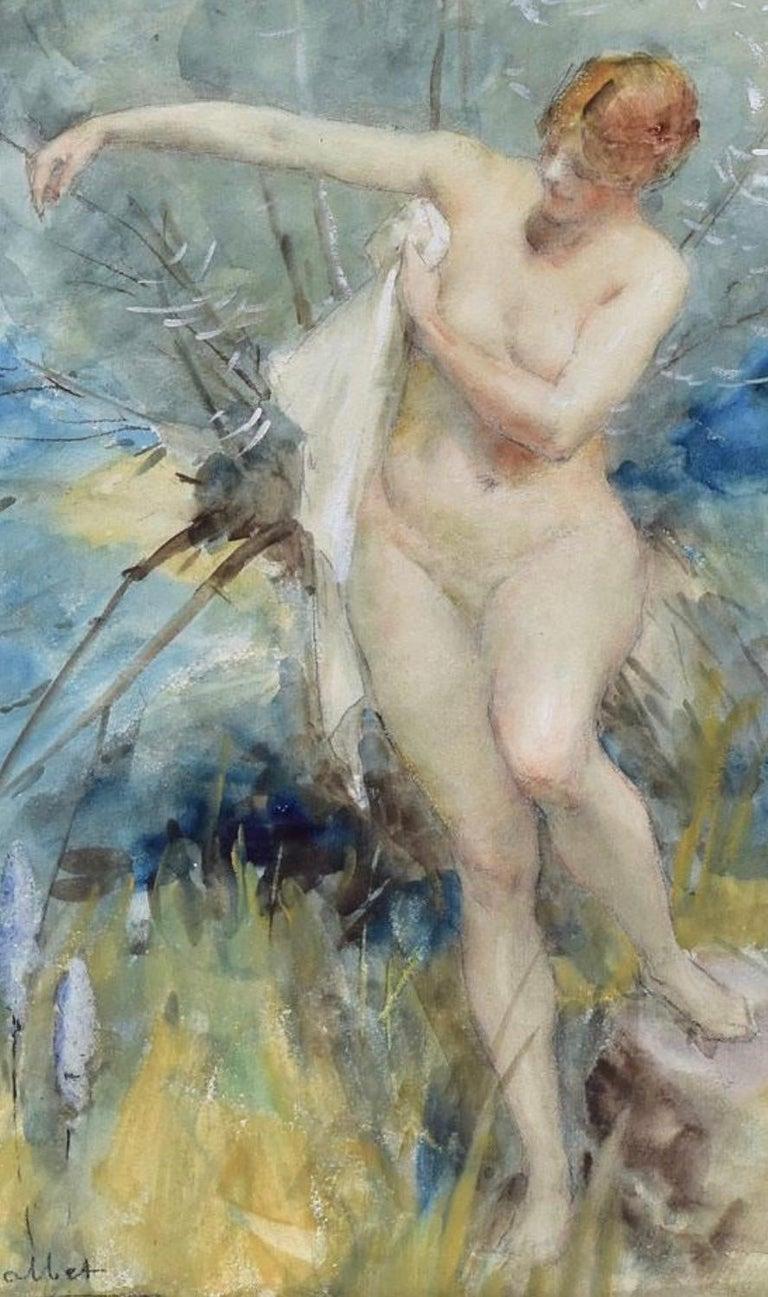 """""""Bathing Beauty"""" - Art by Antoine Calbet"""