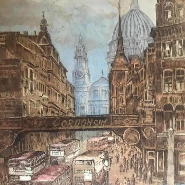 """Paris-London"" - Academic Print by Marianne L. Almasy"