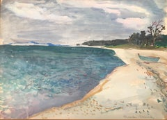 """Beach on Peconic Bay"""