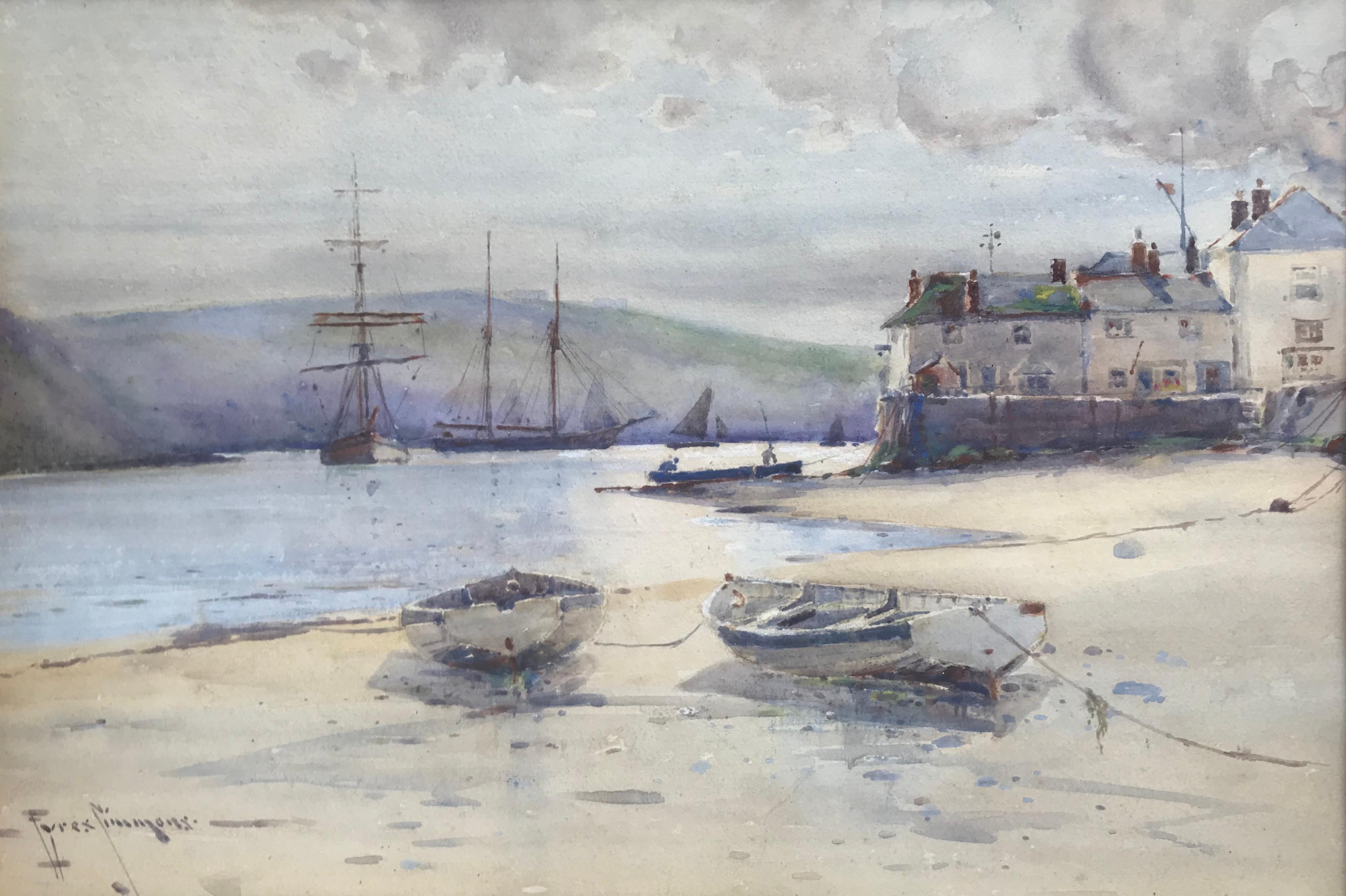 """""""Schooners, Fowey Harbour, Cornwall"""""""