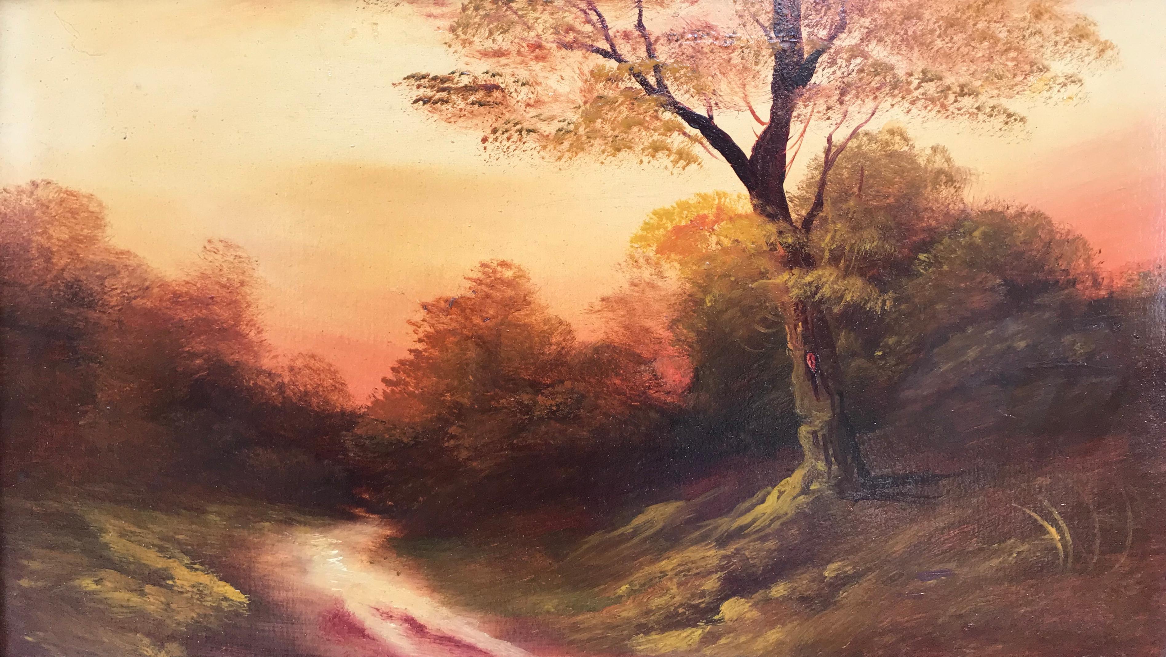 """Sunset, Dorking"""