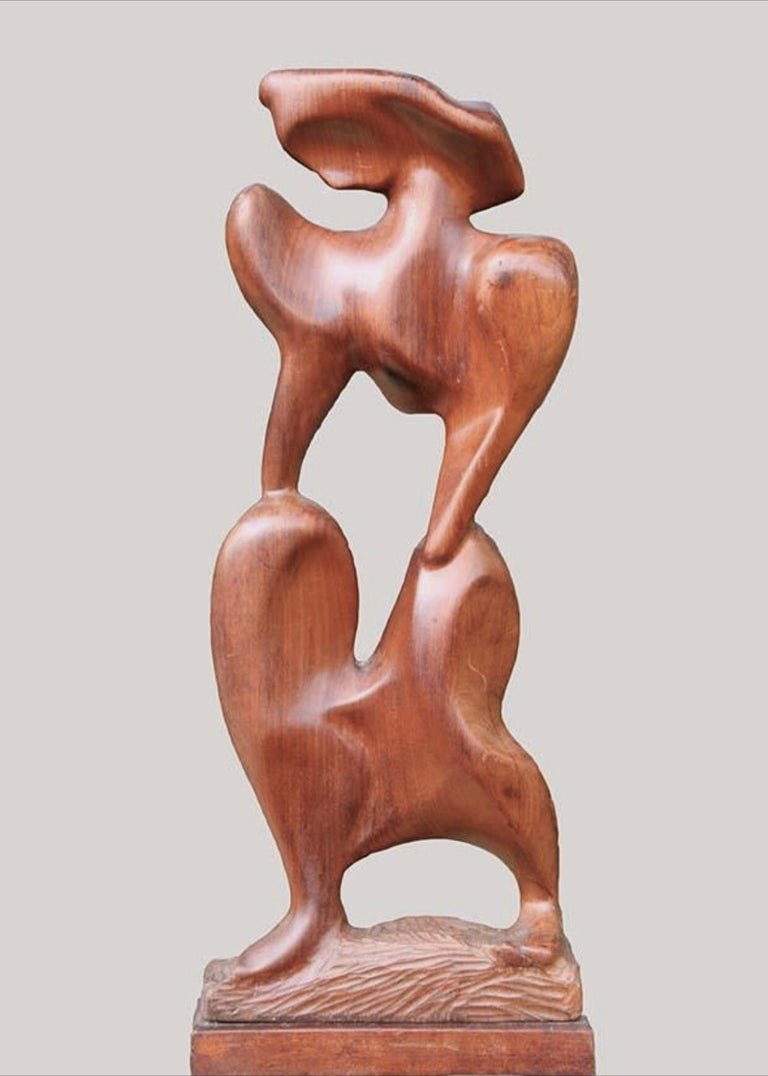 "Ellen Key Oberg Figurative Sculpture - ""Modern Female"""
