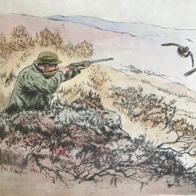 """""""Grouse Shooting"""" - Print by Henry Wilkinson"""