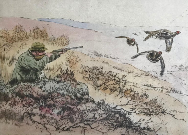 """""""Grouse Shooting"""" - Academic Print by Henry Wilkinson"""