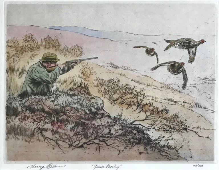 """""""Grouse Shooting"""" For Sale 1"""