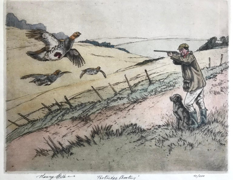 """Partridge Shooting"" - Print by Henry Wilkinson"