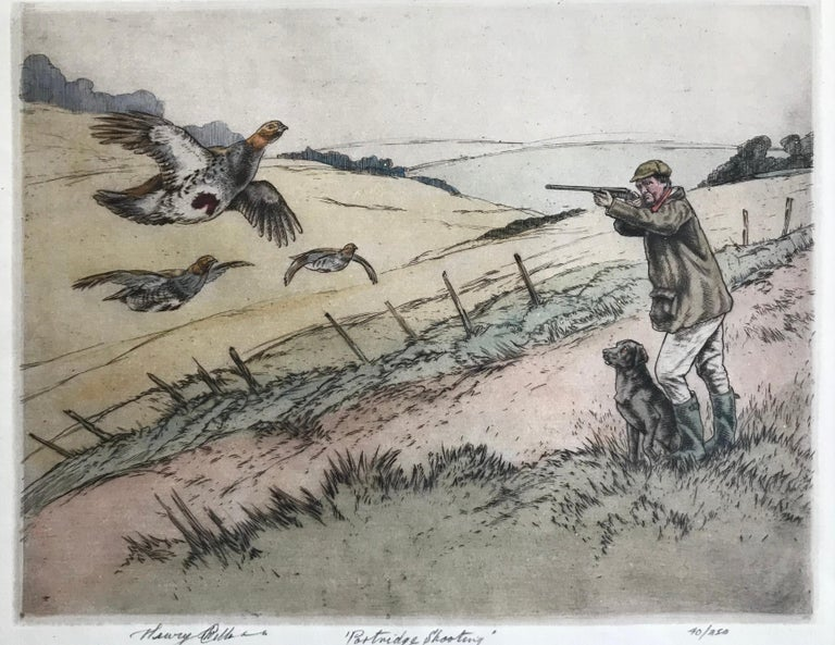 """Partridge Shooting"" - Academic Print by Henry Wilkinson"