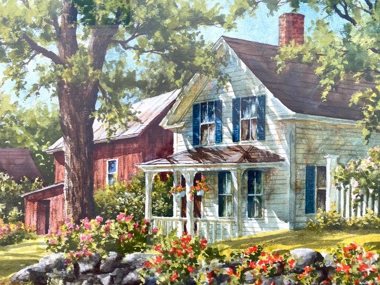 """Stone Wall"" - Art by Gary Shepard"