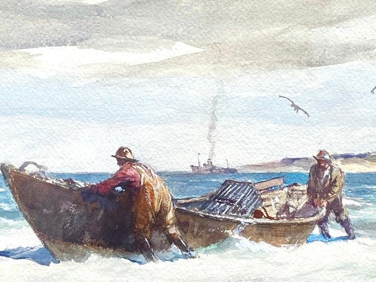 """""""The Lobstermen"""" - Art by Gordon Grant"""