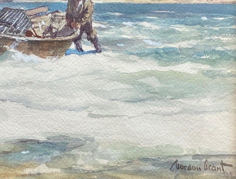 """The Lobstermen"" - American Realist Art by Gordon Grant"