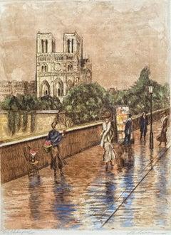 """""""Flower Seller, Notre Dame"""""""