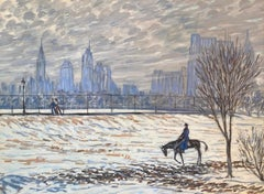 """""""Horse and Rider, Central Park"""""""
